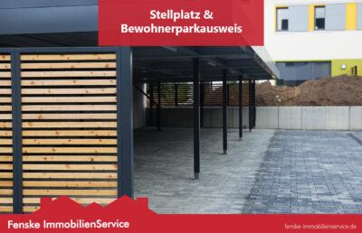 Stellplatz und Parkausweis für Mieter erklärt von Fenske ImmobilienService in Waltrop